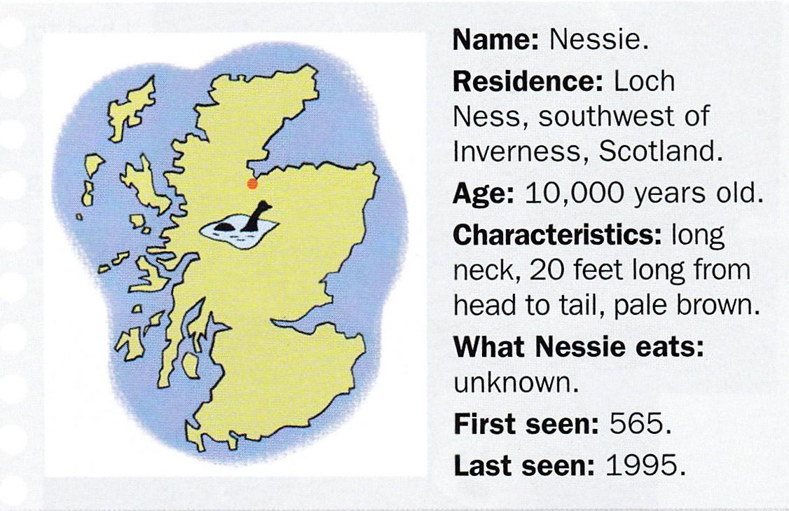 The Loch Ness mystery    - Sauzé-English